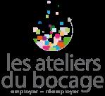 Logo circulaire avec des couleurs vives représentant les Ateliers du Bocage